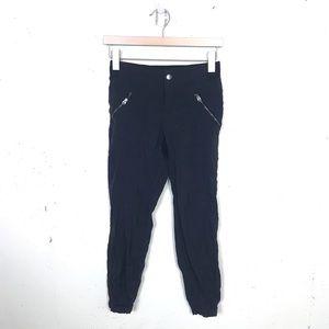 Athleta Trekkie Jogger Ankle Black Pants 0
